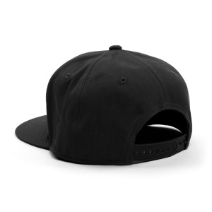 Love Symbol Snapback Hat (Black and Gold)