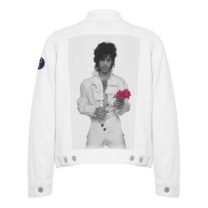 Limited Edition Purple Rain Denim Jacket