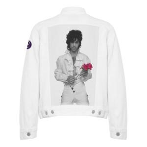 Limited Edition Purple Rain Denim Jacket