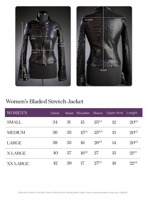 x Call & Response   Ladies Bladed Stretch Leather
