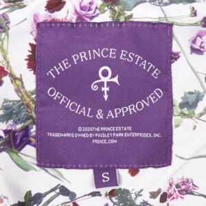 Prince Zip Hoodie with Floral Print Lining