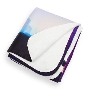 Paisley Park - Sherpa Blanket