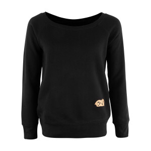 Sign O' The Times Women's Wide Neck Sweatshirt