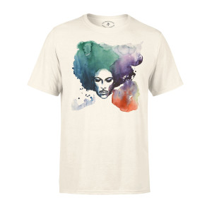 Prince Watercolor Portrait Vintage T-shirt