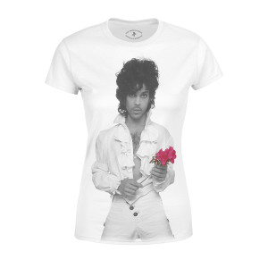 Purple Rain Flower Women's T-shirt