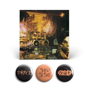 Sign O' The Times Remastered Edition & 3 Button Set Bundle