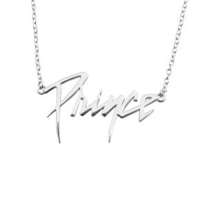 Prince Logo Necklace [Silver]