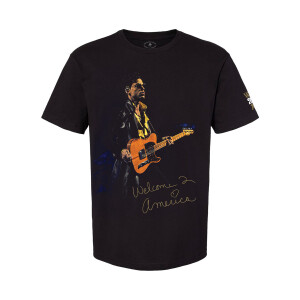 Welcome 2 America Guitar T-shirt (Oversized)