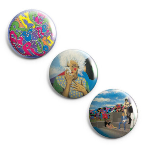 Around the World in a Day Button Set