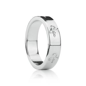 Love Symbol Band [Silver]