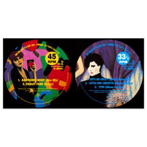 His Majesty's Pop Life: The Purple Mix Club CD & Print