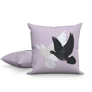 Doves / PRN Logo Pillow