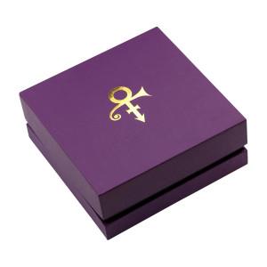 Prince Symbol Leather Bracelet [Gold]