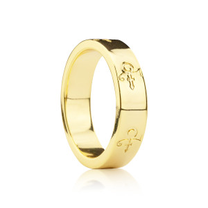 Love Symbol Band [Gold]