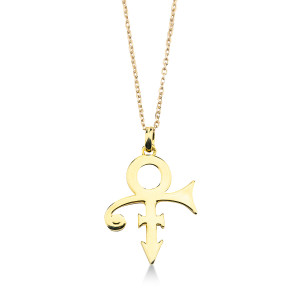 Mini Love Symbol Necklace [Gold]