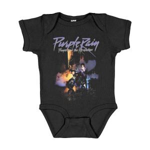 Purple Rain Infant Onesie