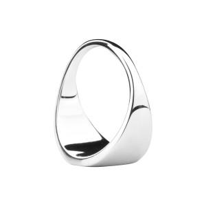 Love Symbol Signet Ring [Silver]