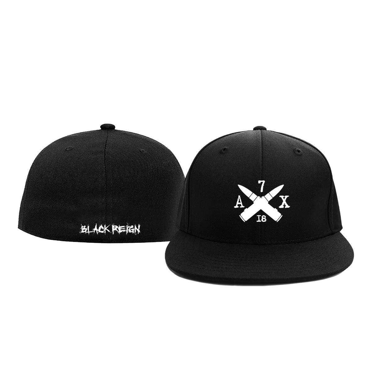 Crossfire Black Flex Hat