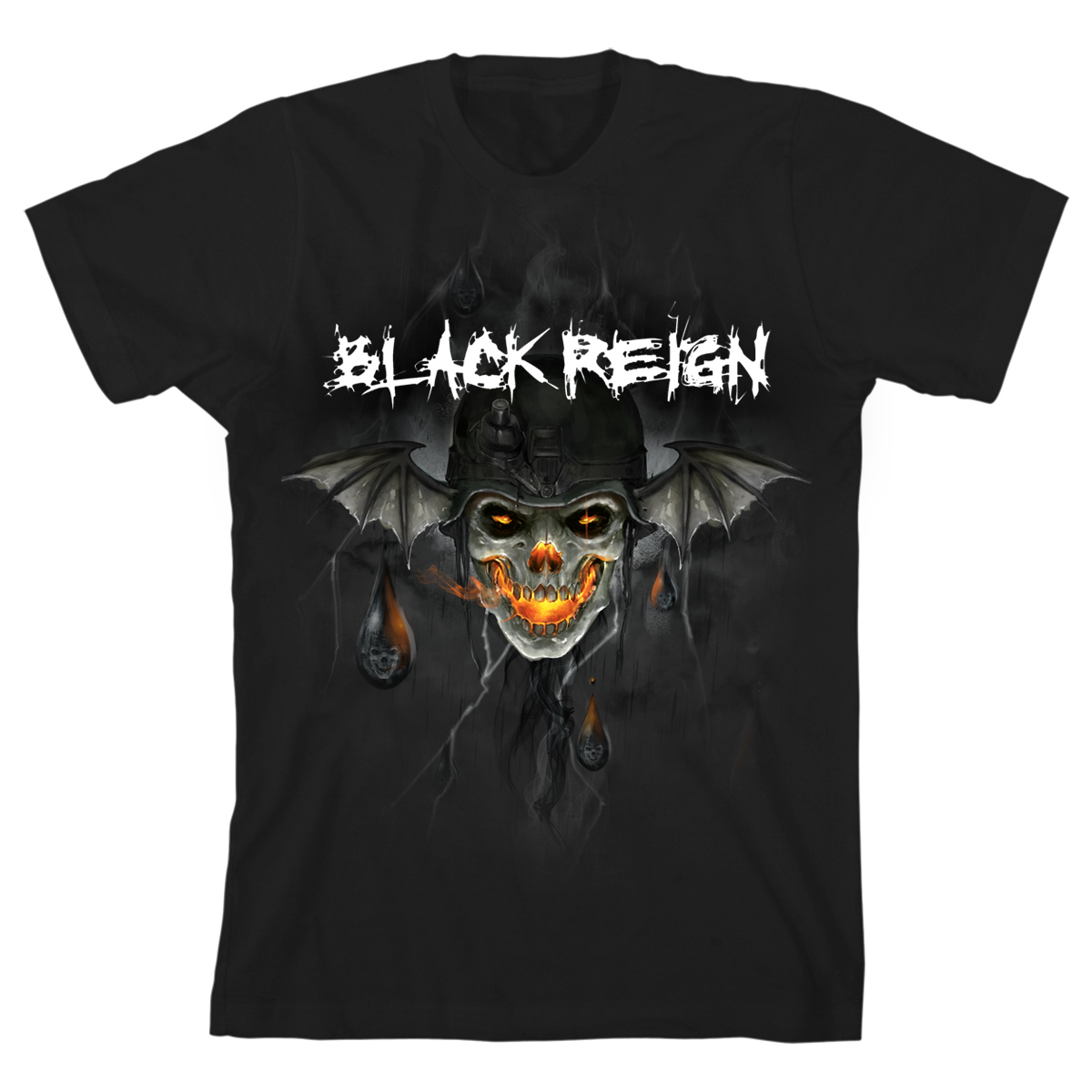 Black Reign T-Shirt Bundle with Digital Download