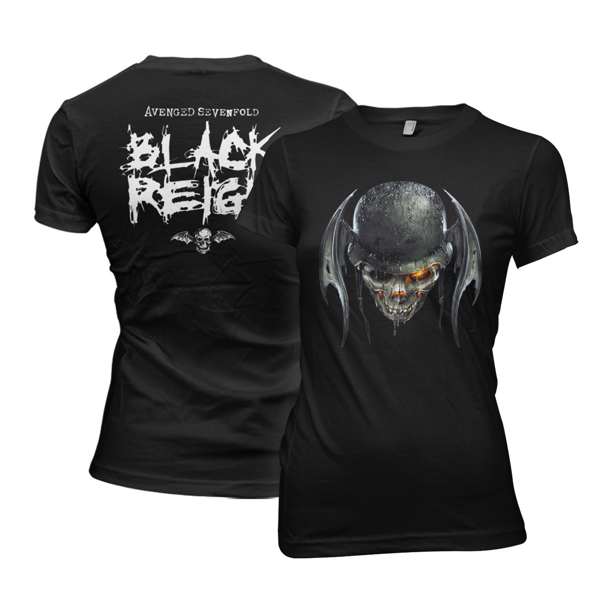 Ladies Black Reign T-Shirt