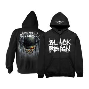 Black Reign Zip Hoodie
