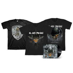 Black Reign T-Shirt Bundle with Vinyl