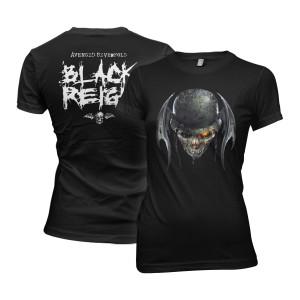 Ladies Black Reign T-Shirt
