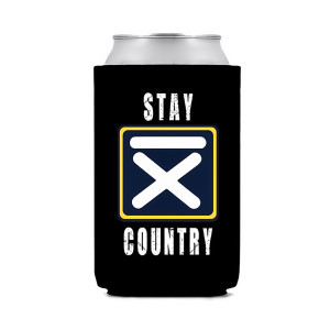 Stay Country Black Can Hugger