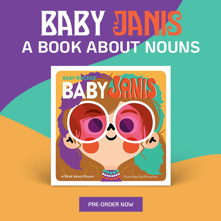Baby Janis: A Book About Nouns