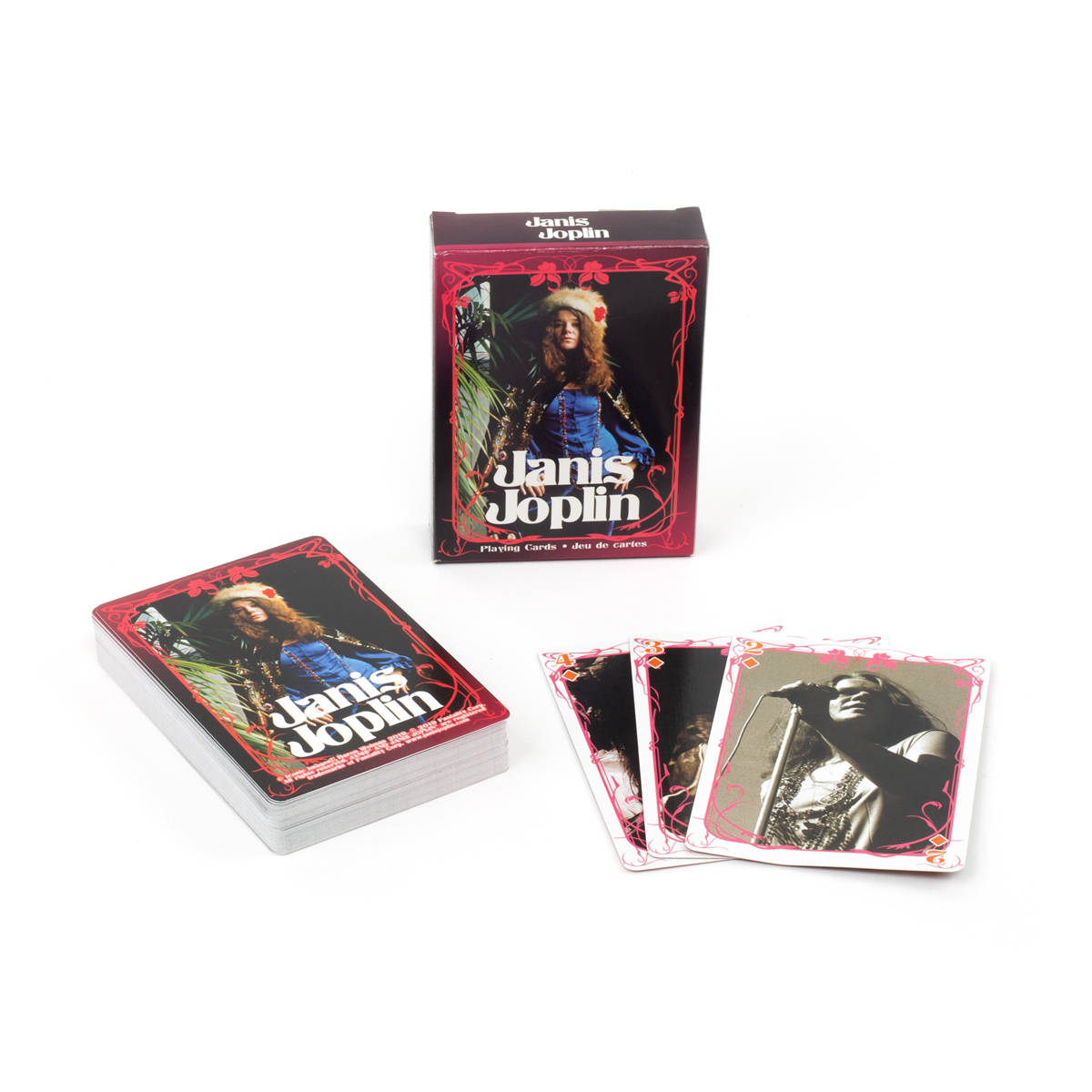 Janis Joplin Playing Cards