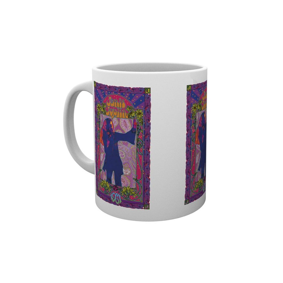Janis Joplin Purple Masse Mug