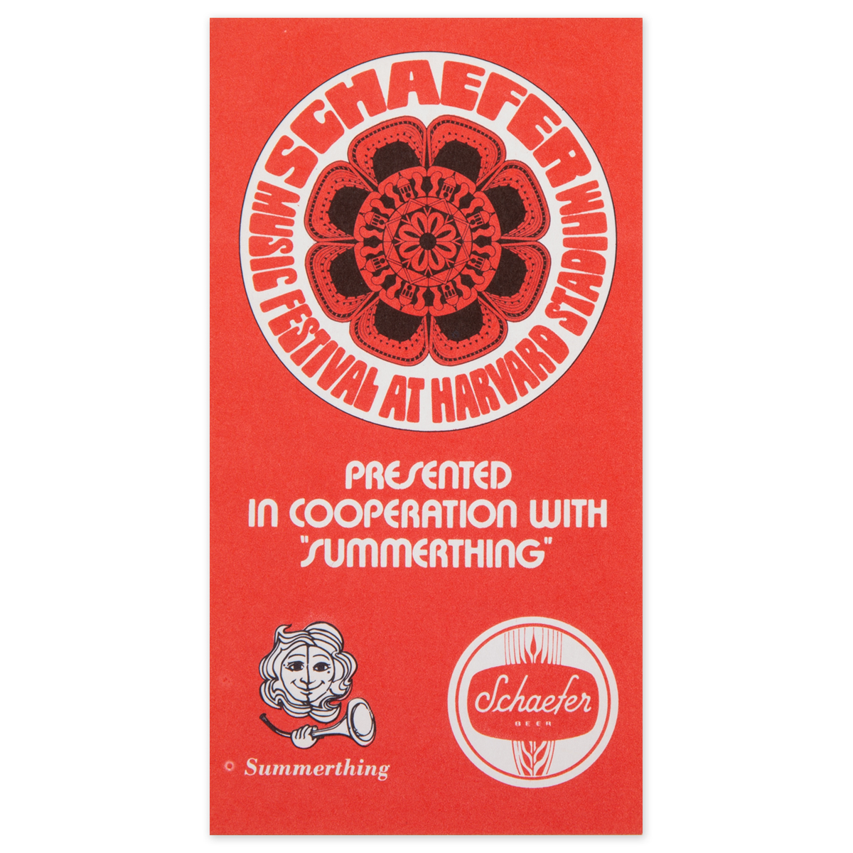 1970 Schaefer Music Festival Season Pass