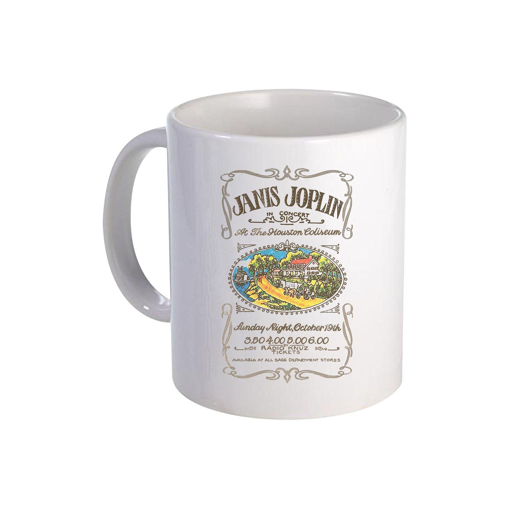 Houston Coliseum Ceramic Mug