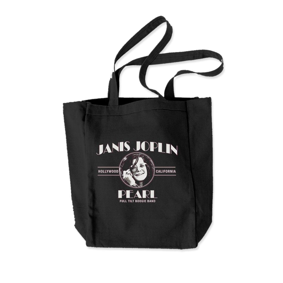 Janis Joplin Pearl Totebag