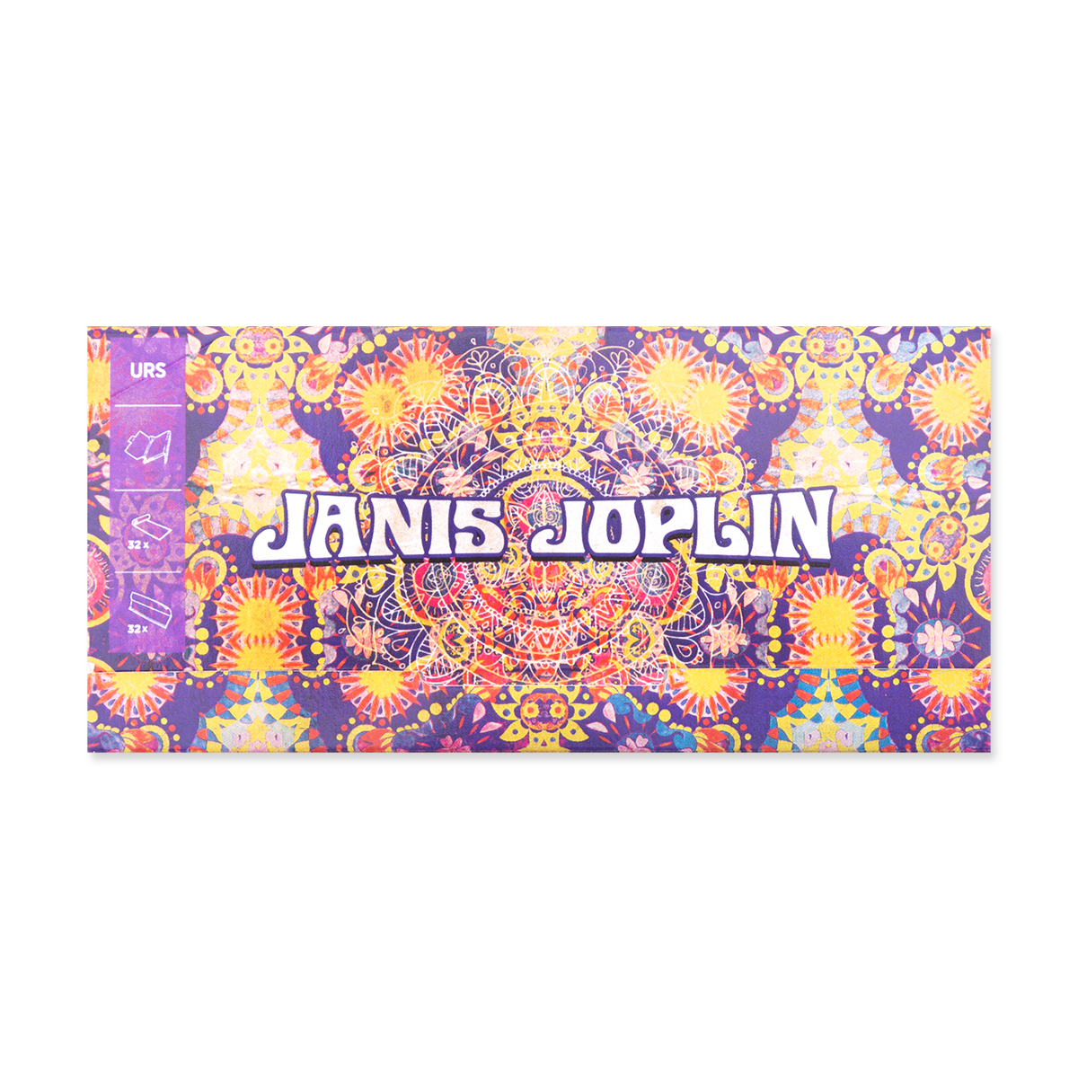 "Janis Joplin x ZIGGI<sup>&reg;</sup> - ""ULTIMATE ROLLING SOLUTION"" 3-IN-1 KING SIZE ULTRA THIN BOOKLET"