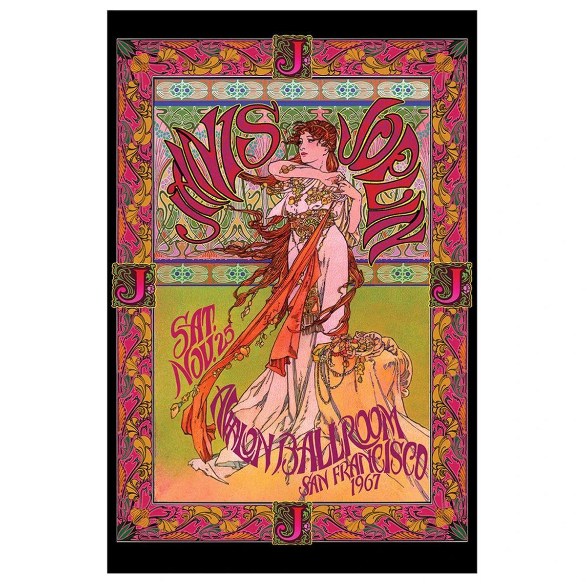 Janis Joplin Avalon Bob Masse Poster