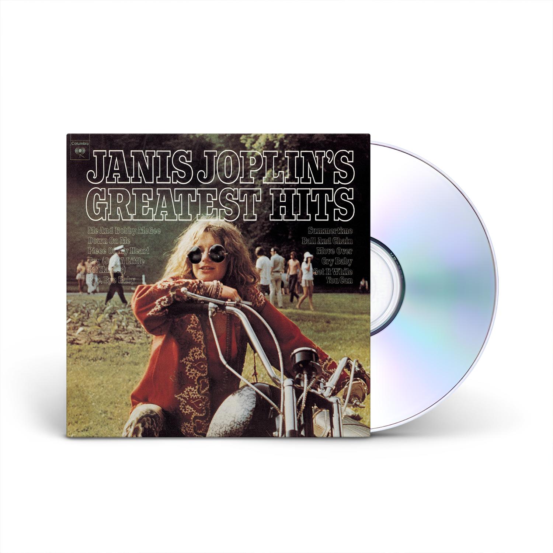 Janis Joplin - JANIS JOPLIN'S GREATEST HITS CD