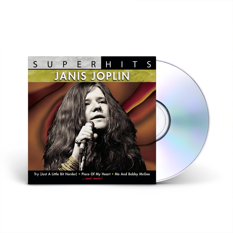 Janis Joplin - SUPER HITS: JANIS JOPLIN CD