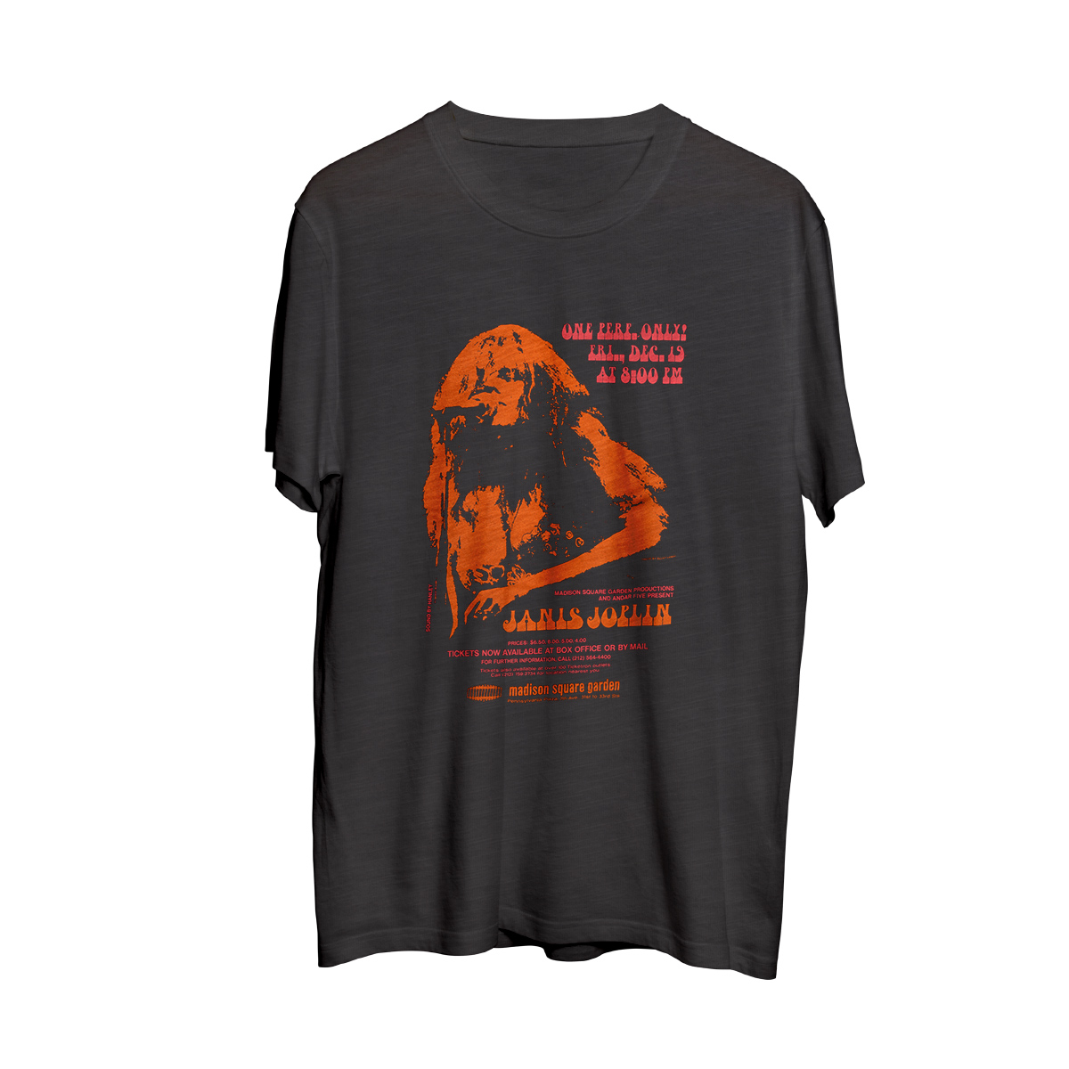 Janis Joplin Madison Square Garden T-Shirt