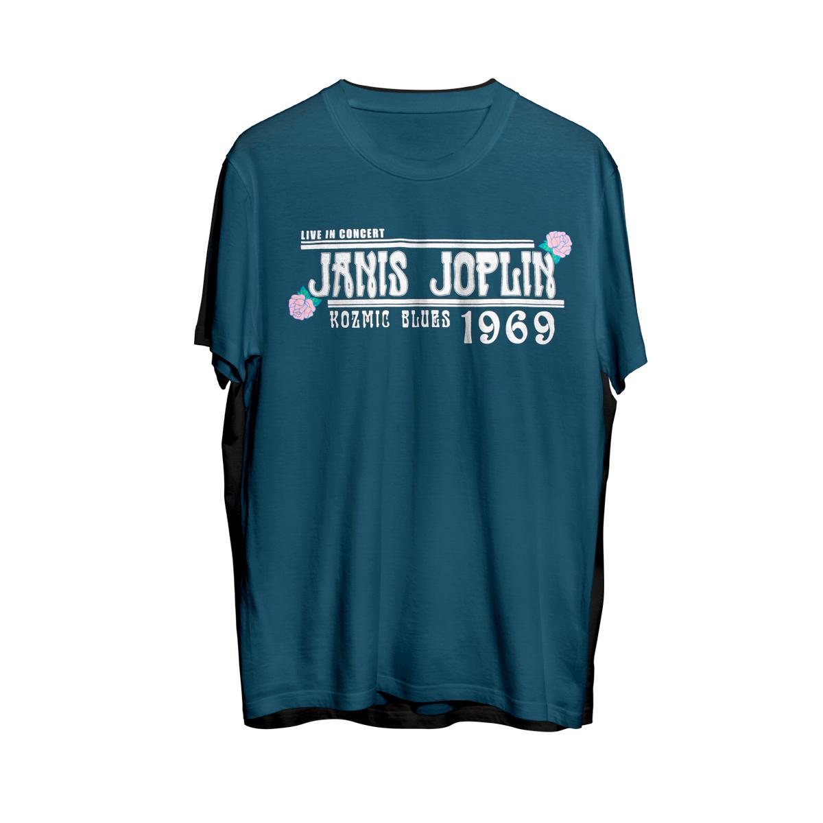 Kozmic Blues Janis Joplin Doheny Tee