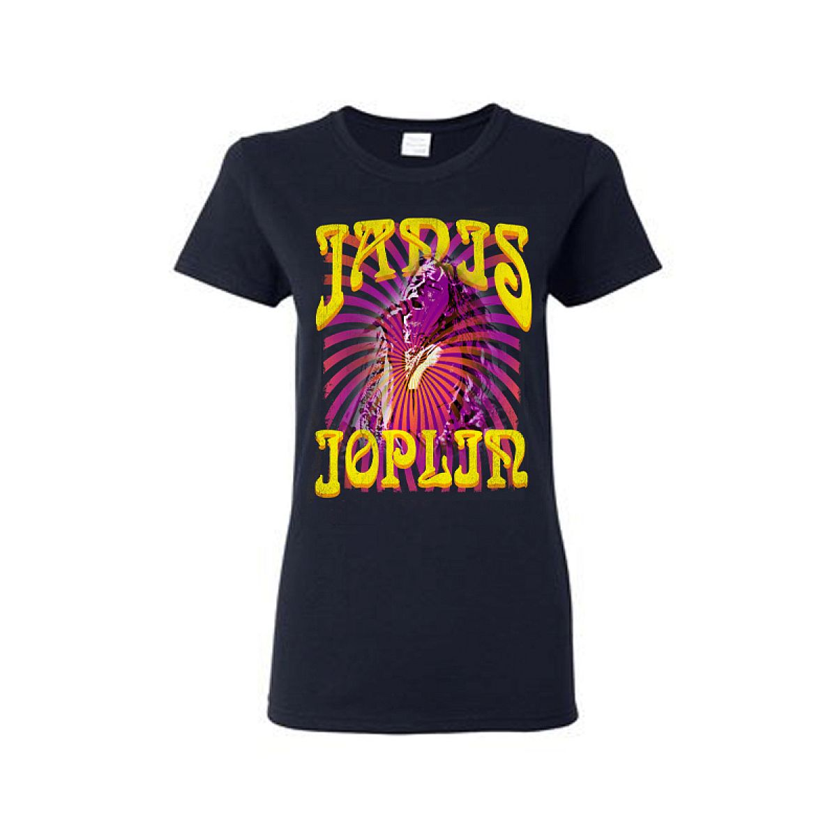 Psychedelic Swirl LadiesT-Shirt