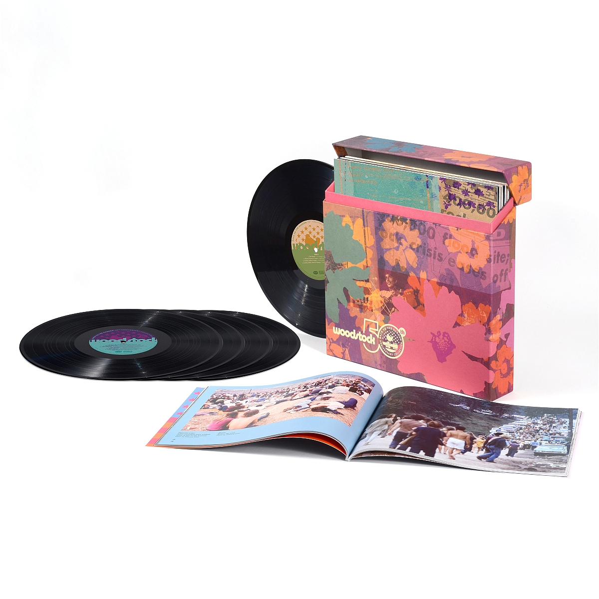 Woodstock - Back To The Garden: 50th Anniversary Collection (5 LP Set)