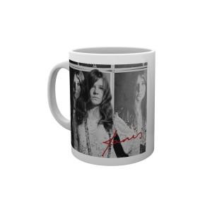 Janis Joplin Wolman B&W Mug
