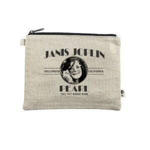 Janis Joplin Pearl Zippered Pouch