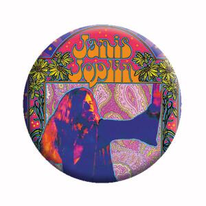 "Janis Joplin Poster 1.25"" Button"
