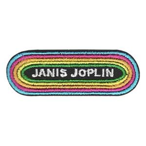 """Janis Joplin KMET Logo 2"""" Patchpins™"""