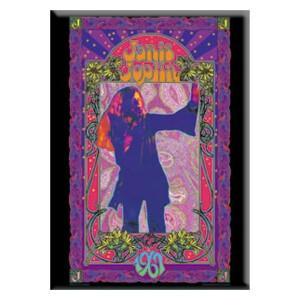 "Janis Joplin Poster 2.5""x3.5"" Magnet"