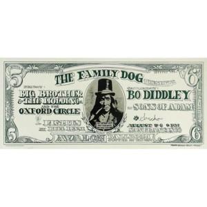 Dollar Bill Lithograph