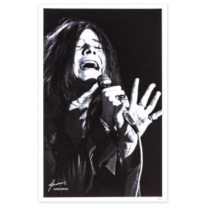 Janis Joplin Limited Edition Print