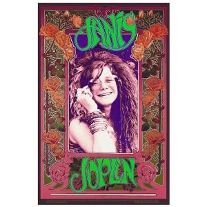 Janis Joplin 2020 Signed Bob Masse Poster